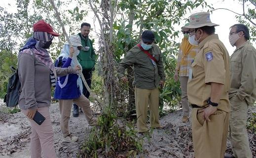 Kunjungan Dinas Lingkungan Hidup dan Kehutanan Provinsi Bangka Belitung Ke Kawasan Konservasi RBT